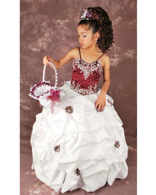 Wedding Flower Girl Bridesmaid Party Dress 51