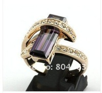 Italian zircon amethyst Ring rings #6~9