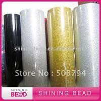Korea quality glitter heat transfer film+hot selling+free shipping