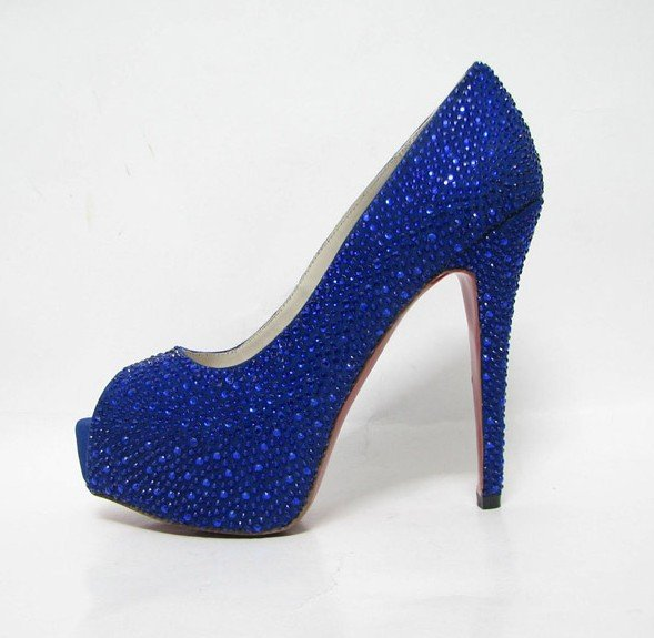 Blue Heels For Women