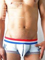 Мода сексуальные мужчины заниженной талией трусы боксер Трусы мужские белье nk111