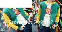 Free shipping New High Baseball jacket /men coat
