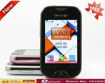 "T5 Dual Sim desbloqueado TV móvil 2.6 "" de pantalla táctil teléfono móvil venta al por mayor"
