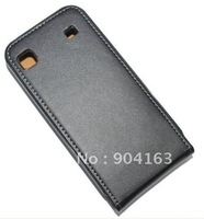 Phone case for Samsung I9000 Galaxy S Real leather Free Shipping