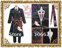 Wholesale Free Shipping Hot Selling Cheap New Halloween Cosplay Costume C4102 Ao no Exorcist okumura yukio Costume for Christmas