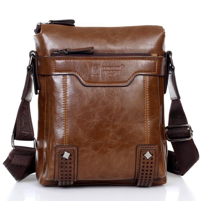 Mens Shoulder Bag Leather – Shoulder Travel Bag
