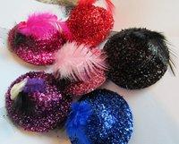 New arrival fashion plain mini hat ,valentines headband 24pcs/lot for 6colors
