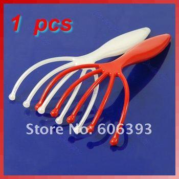 Plastic Head SPA Scalp Massage Massager Equipment Stress Relax