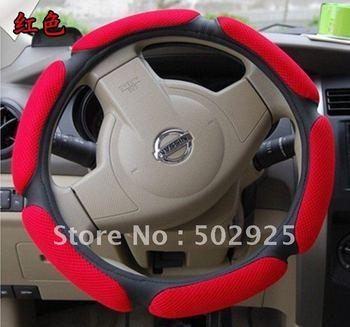 Fashion Kinetic Design steering wheel cover for Cruze polo golf focus solaris Rio Qashqai corolla carmy  livina swift  Kalina