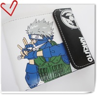 Hot sales ! Cute Animal Naruto Design Naruto Kakashi wallet purse Cosplay Free Shipping !