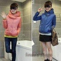 Wholesale fashion 2012  casual fashion thick warm  cotton jacket ladies cotton  short cotton jacket A0101 cheap coat