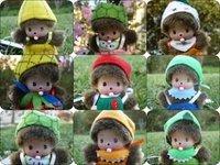 free shipping ,Monchhichi  doll /cute plush doll , key chain , mobile phone chain,stuffed rag doll size:7cm