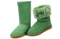 Feature snow boots women TALL winter boots for men 5815 warm SHOES GREEN US SIZE 5-11 5825 5803 5854 TOP QUALITY