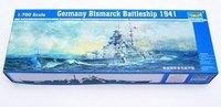 Trumpeter 05711 1/700 Germany Bismarck Battleship 1941