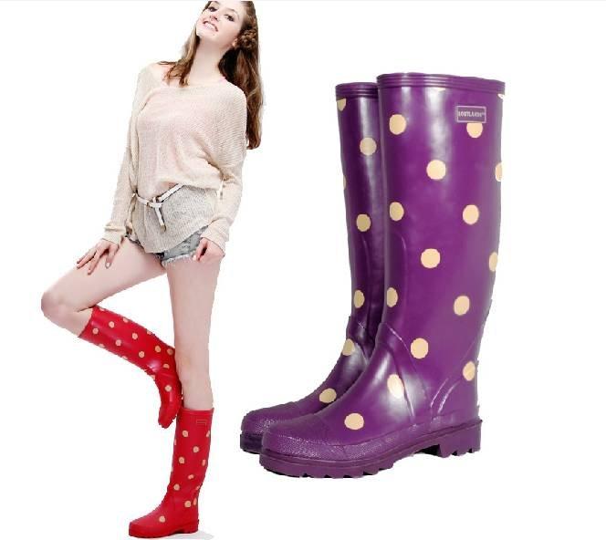 Wholesale retail Free shipping 2014 hot sale women Fashion senior Dot ...