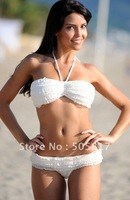 Женское бикини Summer sexy bikini lingerie hot women fashion bikini swimwear ladies beachwear white K391