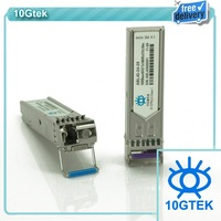 Wholesale BiDi SFP Fiber Optic Transceiver module 1.25Gb/s Tx1490/Rx1310nm 20KM, Free Shipping