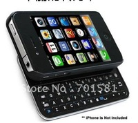 New Bluetooth Slider qwerty Keyboard Case for iPhone 4G / 4GS free shipping