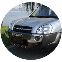 Hyundai TUCSON Face lift Front and Rear Bumper Guard