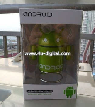 USB TF Android Robot Speaker for Latop Tablet PC Mp3 Free  shipping  2 pcs/lot wholesale