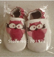 2012 new styles Guaranteed 100% soft soled Genuine Leather baby shoes free shipping 1015