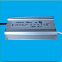 Free shipping 90W 1.5-4.5A IP68 linear power supply led backlight driver power supplies for led driving