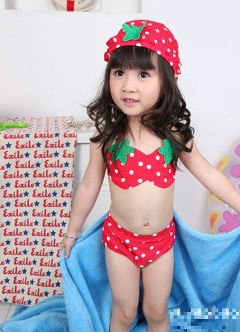 Kids In Bathing Suits Swimwear for kids girls+dhl