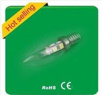 Wholesale 100pcs/lot  Free shipping E14 E12, 7led candle bulb buddha light   220-250v  Model150