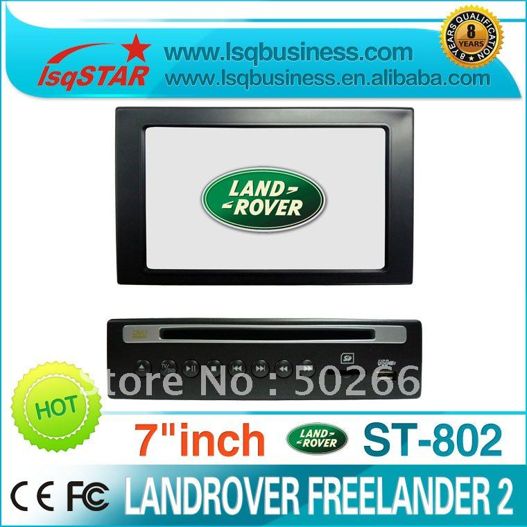 car dvd for landrover freelander 2 with gps navi, isdb-t digital tv optional &(China (Mainland))