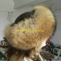BY-H102 sheepskin fur hat sheepskin hat, round sheepskin hat with lamb lether top