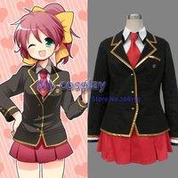Baka to Test to Shoukanjuu Winter School Uniform Cosplay Costume ...