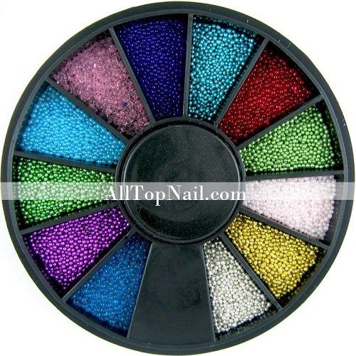 Color Nail Art Mini Beads