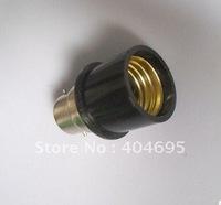 FREE SHIPPING 30PCS  Lamp Converter \ B22 outside to E27 inside lamp holder  Lamp Bases