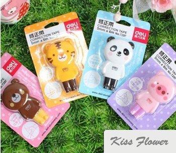 Free shipping, Hot Sells Japan & Korea, cute, lovely cartoon animals correction tape