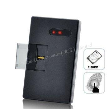 High-tech Fingerprint Locked 2.5 Inch SATA HDD Enclosure - Keep Your Important Hard Disk Drive Contents Safe, Free UPS DHL EMS