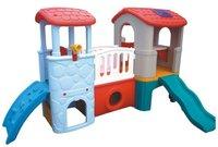 2011 kids indoor plastic slide, slide house / indoor playground equipment