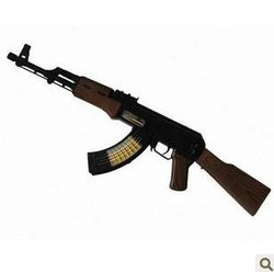 Manufacturers selling electric toy guns long 68 cm sub-machine gun light machine gun voice vibration(China (Mainland))