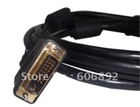 free shipping/new/TV AV DVI to DVI cable Dual Link Digital Video Extension Cable 3M/10ft