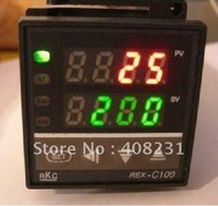 Free Shipping REX-C100 Dual Digital F/C PID Temperature Controller Control