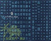 Wholesale - 221 Designs * LARGE Konad Image Plate Nail Art BIG Stamp Stamping Template DIY #B * FREE SHIPPING *
