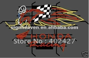 Honda Racing Woody Woodpecker CRF 250,450 Neon Sign