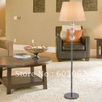 wholesale top K9 crystal+stainless steel  floor lamps/noble floor lights/white floor lamp D510mm x H1600mm
