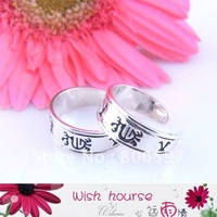 WHTR028,2012 new arrival free shipping wholesale 16mm antique silver fashion toe rings(50pcs/lot)