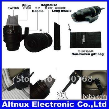 Kettle-shaped Car vacuum cleaner Lens cleaner ST89