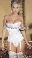 Sexy Lingerie babydoll teddy S M L XL size corset+G-STRING JL6061