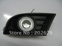 FREE SHIPPING, VOLKSWAGEN LAVIDA SPECIAL FOG LIGHT WITH CCFL ANGEL EYE