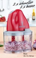 Duoline Mulit-Food Processor Dualetto Food Chopper as Seen on TV Products