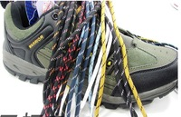 50 Pair mountaineering boot shoe lace shoelace 10 colors color can mix