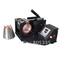 Free shipping Manual mug press machine for savio,with two mug heating mat