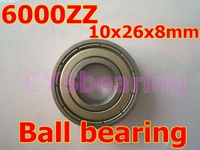 whosale and retail quality stainless steel 440C S6000ZZ SS6000 6000ZZ 10X26X8 mm deep groove ball bearing